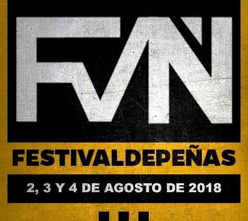 Reincidentes encabezará el Festivaldepeñas 2018