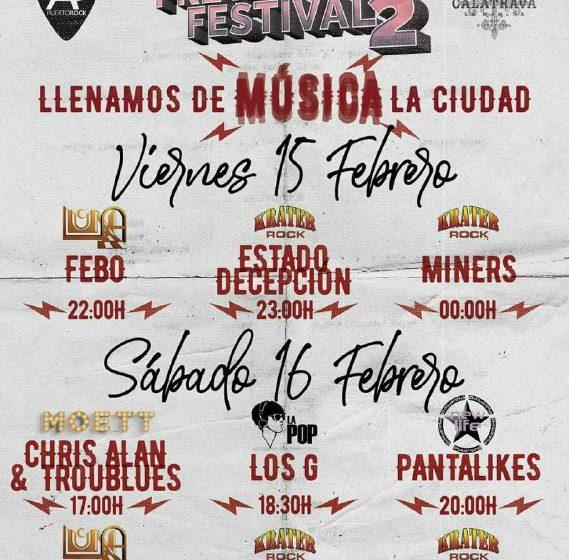 El Puertollano Pre-Winter Festival llena de música la ciudad