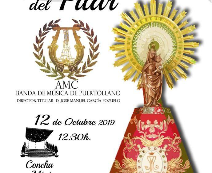 Concierto del Día del Pilar por la AMC Banda de Música de Puertollano