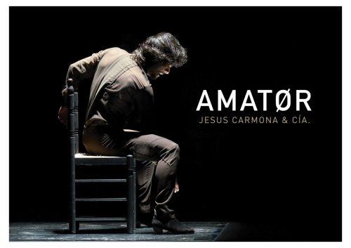 Jesús carmona trae su espectáculo 'Amator' al auditorio de Puertollano