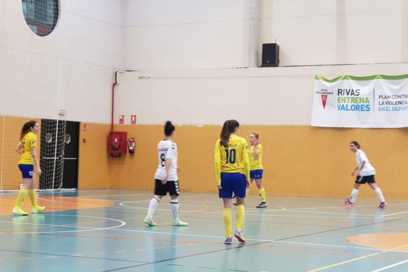 El CD Salesianos cayó derrotado frente al CDB Rivas Futsal